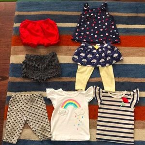 Other - 7pc 3-6M Girl's Bundle